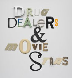 Drug Dealers and Move Starts by Jack Pierson