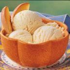 Dad's Peach Ice Cream