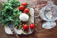 leichter Nudelsalat mit Pesto und Rucola  #leicht #locker #sommer