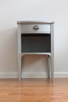 Image result for glass top nightstand