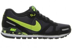 ca32bbe3bd3 Men s Green Air Waffle Trainer Anthracite Volt