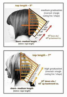 DIY bobs Cortes e penteados Delete after cut duplicate Hair Cutting Techniques, Hair Color Techniques, Diy Haircut, Haircut And Color, Great Hair, Hair Dos, Hair Hacks, Short Hair Cuts, Bob Hairstyles