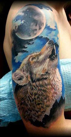 47 Mejores Imagenes De Mejores Tatuajes De Lobos Tattoos Of Wolves