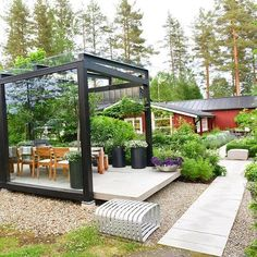 Is was such an honour last year to be invited to the Swedish landscaper Ulf Norfjell and his partner Leifs summerhouse in the north of Sweden. Just 400 kilometer from the polar circle. Here in Scandinavia we are so proud of Ulf. He has won three Gold Medals at Chelsea Flower Show in 2007, 2009 and 2013. In 2009 his show garden was also 'The best in Show. Ulf and Leifs summer garden will be in my book about Nordic Gardens. #blomster #flowers #garden #clausdalby