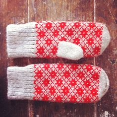 Estonian mittens // one day i will make something this gorgeous