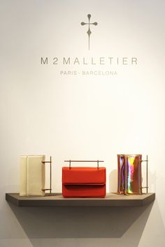 Pop-up M2Malletier at Santa Eulalia store. Passeig de Gràcia 93, Barcelona