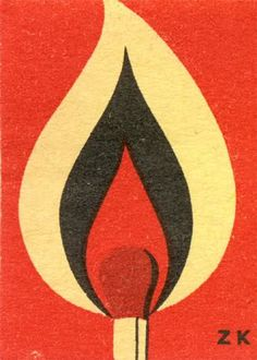zk flaming #matchstick #matchboxlabel To design & order your logo'd #matches GoTo: www.GetMatches.com Today!