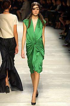 Lanvin Spring 2004 Ready-to-Wear Fashion Show - Alber Elbaz