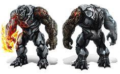 Marvel Other, Вариант Фантастической Четверки (Fantastic Four) - Существо (Thing) + Мистер Фантасик (Mr. Fantastic) + Человек Факел (Human Torch)