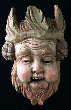 Bacchus Mask, Tyrol, Austria