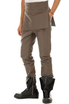 Rick Owens skirted trousers (art. U 3377/TA 0078 DARKDUST)