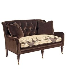 Pearson settee Coordinated FAbric