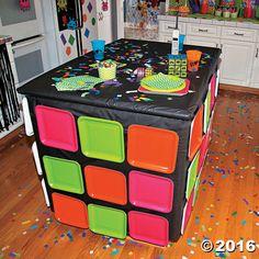 80's Magic Cube Table Idea