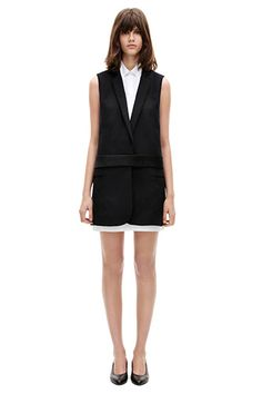 This is my idea of the perfect evening look; classic, tailored but the cut keeps it fun and chic.
