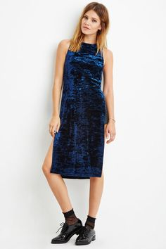 Forever 21 is the authority on fashion & the go-to retailer for the latest trends, must-have styles & the hottest deals. Shop dresses, tops, tees, leggings & more. Blue Velvet Top, Velvet Tops, Forever 21, Shop Forever, Crushed Velvet, Latest Trends, Tunic, Contemporary, Formal Dresses