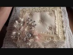 Wild Orchid Crafts - Shabby chic gift box - YouTube
