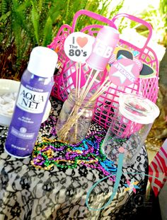 J. At Your Service: A Totally RAD, 80's Bridal Shower