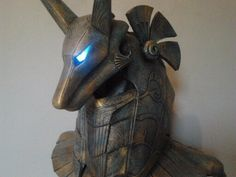 step by step : full scale Anubis Helmet from Stargate ! - Gangeek Style