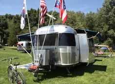 1974 Airstream with a slideout