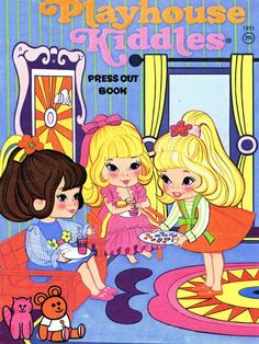 Playhouse Kiddles press out book