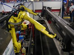 Manufacturing engineering - Wikipedia, the free encyclopedia  An industrial robot on an assembly line.