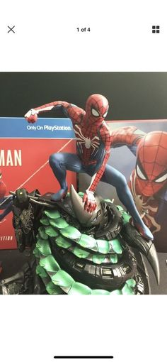Limited PS4 Spider-Man Collectors Edition Statue/Figure Art Book  NO GAME Experience a brand-new and authentic Spider-Man adventure with a fully customized Amazing Red PS4 Pro console.  Best spider man ps4 pro bundle, Save price pider man ps4 bundle, Spider man ps4 pro best buy Spider man ps4 pro gamestop, Spider man ps4 pro walmart Best seller #spidermanps4prorestock #ps4prospidermanedition #Spidermanps4proconsole