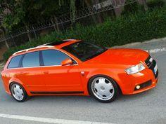 Audi A4 2004 KOSOVALI 'DAN AUDİ A4 RS4 QUATTRO AVANT