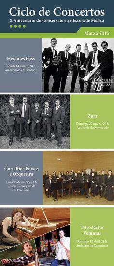 CORES DE CAMBADOS: CONCERTOS NO AUDITORIO DA XUVENTUDE