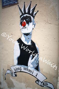 Mimi Le Clown Street Art