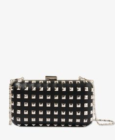 Structured Studded Clutch | FOREVER21 - 1019567074