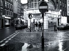 Soho in the Rain