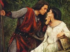 (historical) This article talks about dating and romance in medieval times. This gives us a better insight on how the relationship may have been between Hamlet and Ophelia or how it shouldve been. Medieval Knight, Medieval Art, Medieval Fantasy, Medieval Times, Narnia, Romantic Paintings, Knight In Shining Armor, Evil Knight, Chivalry