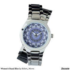Women's Royal Blue Wristwatch