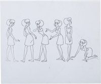 Animation Art:Color Model, Sabrina the Teenage Witch Color Model Cel Animation Art Group(Hanna-Barbera, c. 1970s).... (Total: 2 Items)