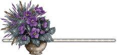 ® Imágenes y Gifs Animados ®: BARRAS O SEPARADORES 1 Peter, Mickey Y Minnie, Divider, Floral, Flowers, Plants, Blog, Gifs, Swirls