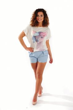Shop de leukste outfits onlin ebij www.Miss-P.nl gratis verzending