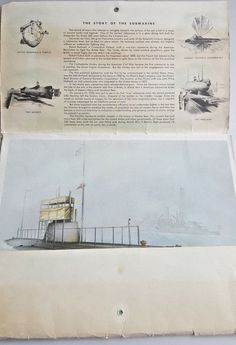 9972d3e4a9da 10 US Navy submarine prints General Dynamics Electric Boat Division orig  folder