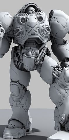 Fausto de Martini for Blizzard Entertainment (via CGSociety.com)