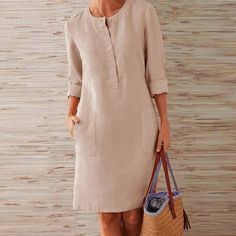 Buttoned Down Pockets Plus Size Dresses is part of Dresses Shop Causal Dresses Shift Casual Causal Dresses online Discover unique designers fashion at noracora com - Midi Dress With Sleeves, Long Sleeve Mini Dress, Sleeved Dress, Dress Long, Fancy Dress, Plus Size Party Dresses, Mini Dresses, Cheap Dresses, Midi Dress Plus Size