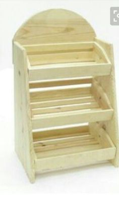 3 Bin Wood Counter Display, built from three shelves of varying sizes, is an attractive wood crate display for your merchandise. Into The Woods, Soap Display, Display Boxes, Display Ideas, Craft Fair Displays, Jewelry Displays, Store Displays, Counter Display, Display Cabinets