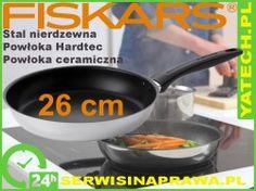 Patelnia Fiskars, Stalowa, 26cm, 855326S, 855326
