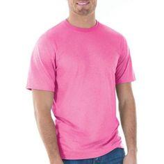 Gildan Big Mens Classic Short Sleeve T-Shirt, Men's, Size: 2XL, Pink