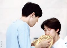 Sehun and Chanyeol EXO Second Box