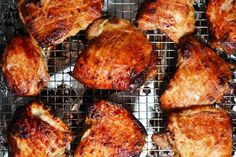 Asian Chicken Thighs: use olive oil, Bragg's Aminos, ACV, not sure what to do about the fish sauce.