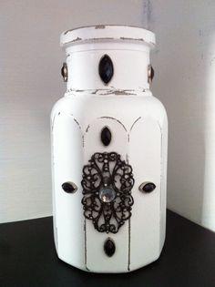 Shabby bottle