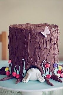 Adorable Idea For An Easter Cake #fooddecoration, #food, #cooking, https://facebook.com/apps/application.php?id=106186096099420