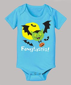 Love this Turquoise 'Fangtastic' Bodysuit - Infant by KidTeeZ on #zulily! #zulilyfinds