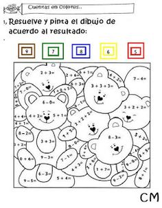 PINTANDO UN ARCO IRIS DE AMOR: ACTIVIDADES MATEMÁTICAS PARA PRIMER CICLO Art For Kids, Numbers, Xmas, Kids Rugs, Blog, Places, Bow Braid, First Grade Math, Fun Math Activities