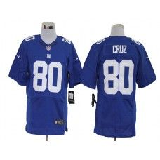 NFL Jersey's Mens New York Giants Victor Cruz Nike White Elite Jersey