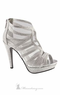 2173b9e4708 Benjamin Walk 494 Shoes - MissesDressy.com Prom Shoes Silver